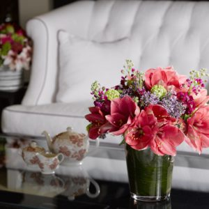création fleurs d'amaryllis