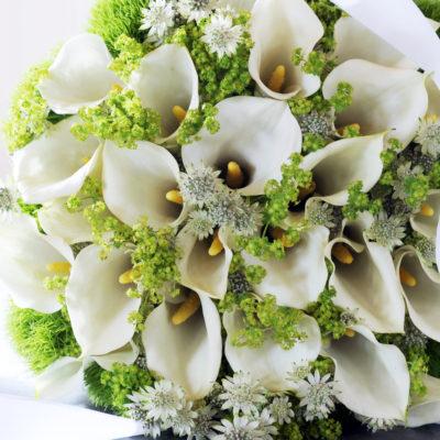 arum bouquet fleurs