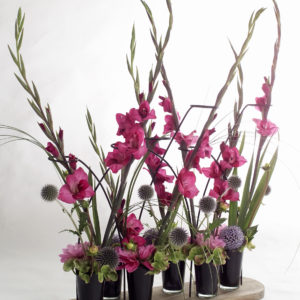 bouquet-glaieul-rose