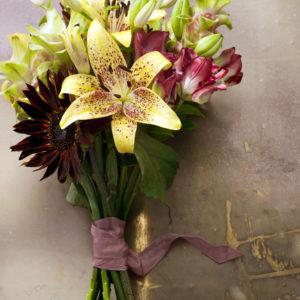 bouquet-lys-jaune
